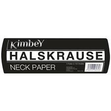 Kimbey Halskrause 1 Stange - 5 Rollen je 100 Blatt Friseur Halsschutzkrause