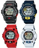 Casio G-Shock Digital World Time Moon Phase Stopwatch Resin Strap Gents Watch