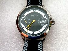 BEAUTIFUL VERY BIG MEN'S SWISS ZENITH SPORT WATCH!