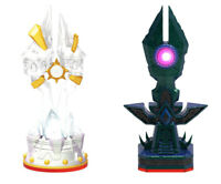 Skylanders Trap Team Trap Master Light & Dark -Trap Crystal