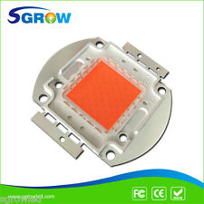 100W  Plant Grow Led Chip  60pcs 3W Bridgelux Broad Spectrum 400nm~840nm