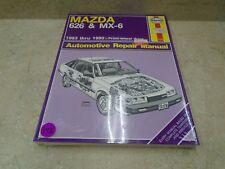 MAZDA MX6 626 Haynes Used Repair Manual VP 1983 1990 VP-CM172