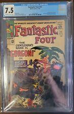 Fantastic Four 44 CGC 7.5 Silver Age Marvel Key! 1st Gorgon! Inhumans