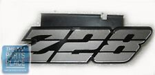1980-81 Chevrolet Camaro Z28 Grille Emblem With Retainer Silver