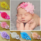 12pcs Kids Girl Baby Toddler Infant Flower Headband Hair Bow Band Accessories