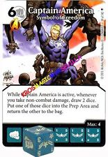 039 CAPTAIN AMERICA Symbol of Freedom -Common- AGE OF ULTRON Marvel Dice Masters