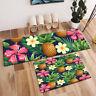 Tropical Pineapple Flower Home Area Rug Bedroom Floor Carpet Kitchen Doormat Mat