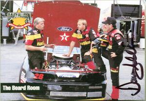 -Rare- 1993 -Davey Allison- NASCAR Racing Guaranteed Signed/Autograph/Auto Card