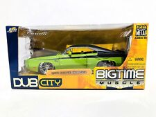 JADA DUB CITY BIG TIME MUSCLE 1970 DODGE CHARGER 1:24 SCALE