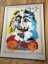 Vintage 1969 artist PICASSO Portraits Imaginaire Serigraph POSTER Modern Art