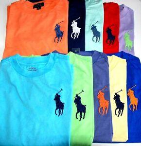 Boys Genuine Ralph Lauren Big Pony Short Sleeve Cotton Tops - CLEARANCE