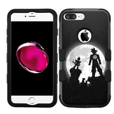 for iPhone 8 Plus Rugged Rubber+Hard Hybrid Case Dragon Ball Z #M