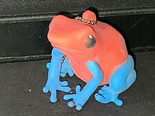 Frog Keychain Squishy Strawberry Red Blue Poison Dart #Lcps