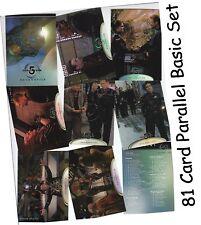 "Babylon 5 Season 5 (Five)  - 81 Card ""Embossed"" Parallel Set - Skybox 1998"
