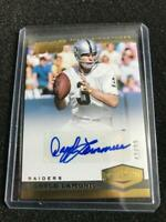 """Daryle Lamonica 2019 Plates & Patches """"100 YEARS"""" AUTO 43/99 Oakland Raiders"""