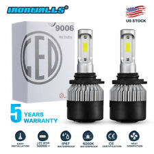 COB 9006 HB4 1800W 270000LM LED Headlight Fog Bulb Kit 6000K White High Power