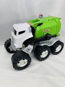 Mattel Matchbox Stinky The Garbage Trash Truck Interactive Talking Sounds Lights