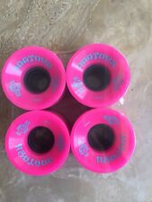 Dog Town Skateboard Wheels 59mm 79a Hot Pink With Baby Blue Graphics Nice!!