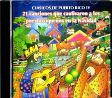 CLASICOS DE PUERTO RICO VOL.4- TONY CROATTO,TUNA DE CAYEY,ALFOSO VELEZ - CD