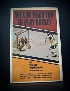 Phil & Tony Esposito 1972 We Can Teach You To Play Hockey