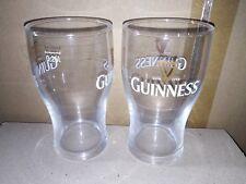 6 verres bière Guinness 25cl