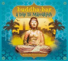 BUDDHA BAR PRESENTS/A TRIP TO MARRAKESH BUDDHA-BAR TRAVELS COLLECTION 2 CD NEUF