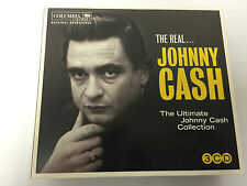 Johnny Cash - Real... (The Ultimate Collection [3-CD], 2011) DIGIPAK