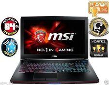 "MSI APACHE ge62 2qf 15.6"" Pro Gaming Laptop, i7-5700hq 16gb 1tb+128gb GTX 970m"