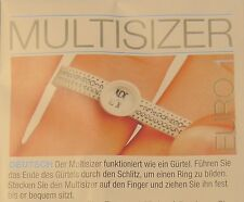 Ringgrösse Ringmaß Ringgrößenmesser Multisizer Ringgrösse messen #Ringe #schmuck