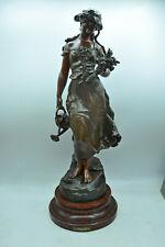 Grande statue La Rosaie par MOREAU collection régule