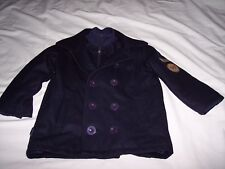 PHAT FARM Navy Blue Child Toddler PEA COAT PF-092 ~ Size 3T