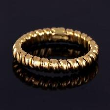 18k Yellow Gold Flexible Ring