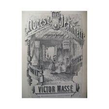 Mass Victor the Wedding of Jeannette Singer Piano Opera 1860 Sheet Music