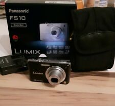 Panasonic LUMIX DMC-FS10/DMC-FH1 12.1MP Digitalkamera - Schwarz