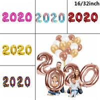 de Noël Digital ballon Helium ballon Chiffres pour 2020 Feuille d 'aluminium