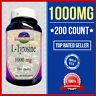 L-Tyrosine 500mg +500=1000 Energy-Chronic Fatigue-Focus-Depression 200 caps USA