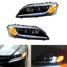 HID Headlight For Mazda 6 2006-2008 With LED Guiding DRL And Ballast Smoked