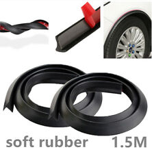 2x1.5m Good-look Car Wheel Fender Extension Moulding Flares Strip Stick out Edge