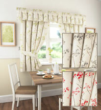 Polyester Country Floral Ready Made Curtains & Pelmets