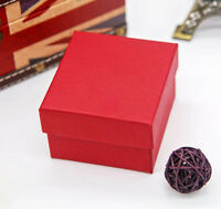 Present Gift Boxes Case For Bangle Jewelry Ring Earrings Wrist Watch Box Storage