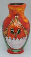Anita Harris Easter Chick Vase - signed in gold to base