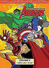 AVENGERS EARTH'S MIGHTIEST HEROES VOLUME 4 DVD 7 EPISODES MARVEL