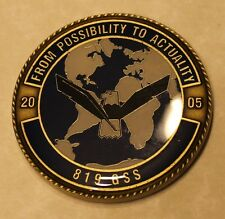 819th Global Support Squadron (GSS) Air Force Challenge Coin