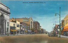 Beaver Falls Pennsylvania~Seventh Avenue~GC Murphy Five & Dime~Singer~1940s