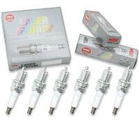 6 pcs NGK Laser Iridium Spark Plugs for 2006-2012 Mitsubishi Eclipse 3.8L  mo
