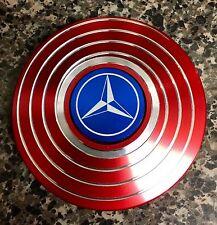 NEW STYLE Round Mercedes-Benz EDC Fidget Spinner Disc 🇺🇸US SELLER FAST SHIP 🛩