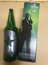 RARE, James bond Skyfall Heineken 1 litre empty bottle with box