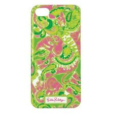 Lilly PULITZER iPhone case COVER 5/5S mobile cell phone NIP Pink Green Chin Chin