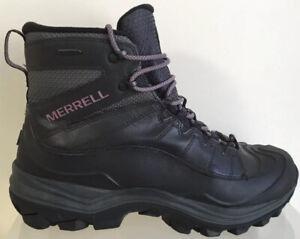 Ladies Merrell Thermo Chill Shell Waterproof Hiking Boots UK Size 8.5 EU 42.5