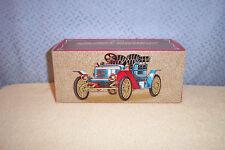 Avon Silver Stanley Steamer Decanter 1978 Mib